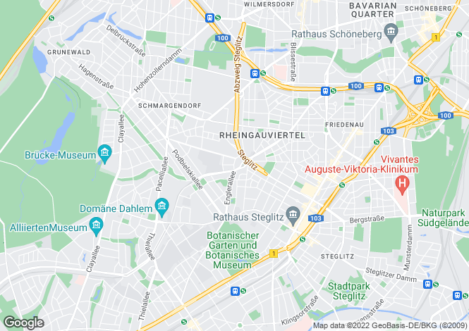 Map for Spilstrasse 6, Berlin, Zehlendorf (Berlin), Germany