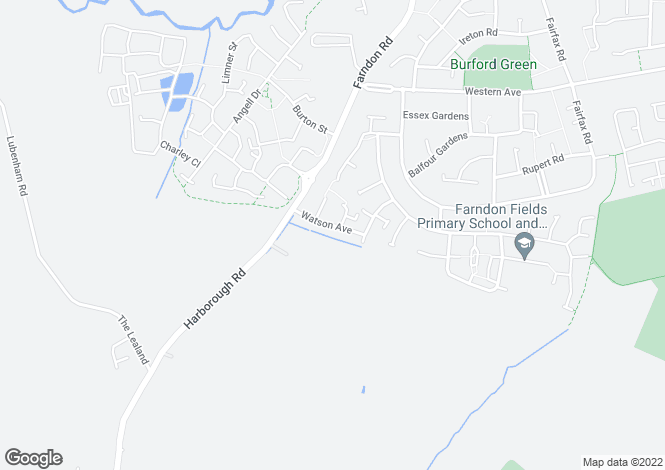 Map for HADLEY at Farndon Fields, Watson Avenue,