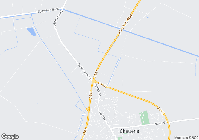 Map for Willow Farm, Fenton Way, Chatteris, Cambridgeshire