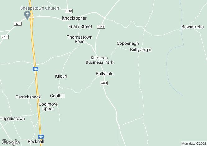 Map for No.3 Main Street,Ballyhale