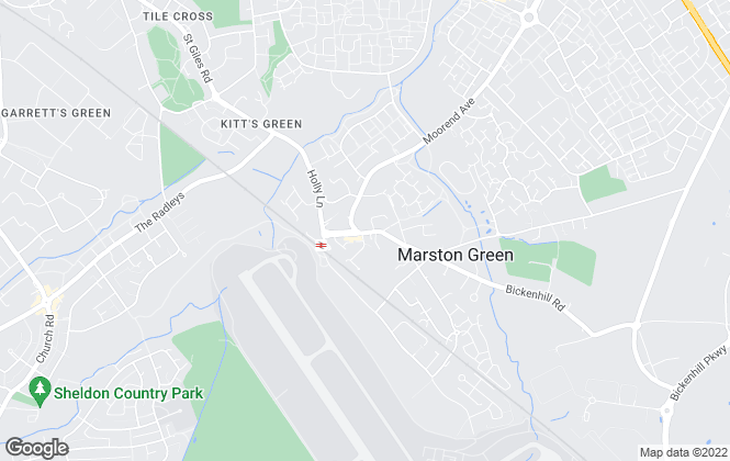 Map for Ferndown Estates, Marston Green