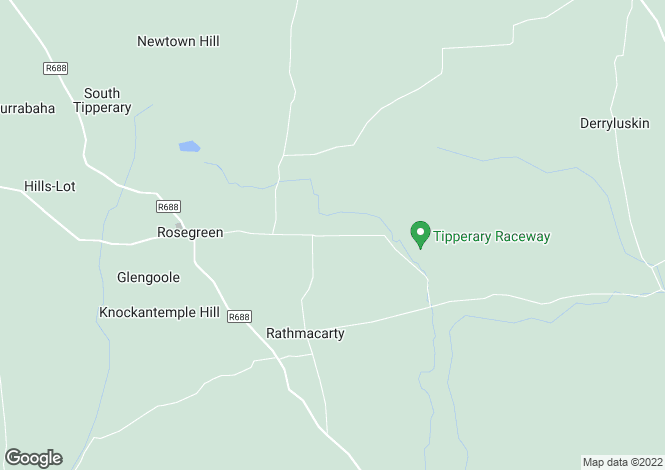 Map for Tullamaine rosegreen, Fethard, Co. Tipperary