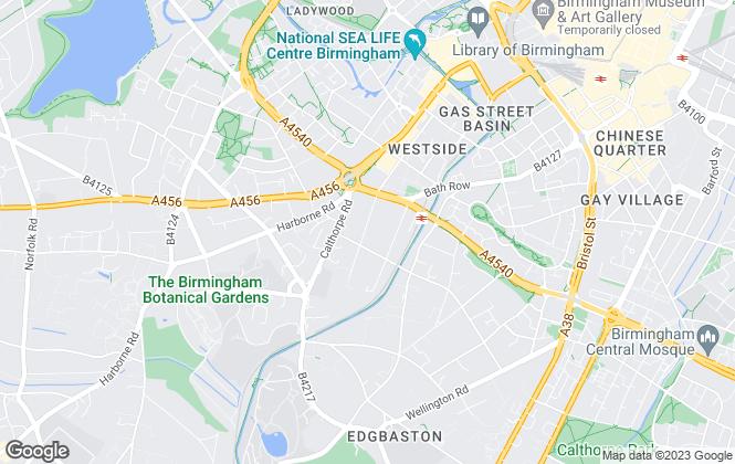 Map for Davidson Estates, Birmingham