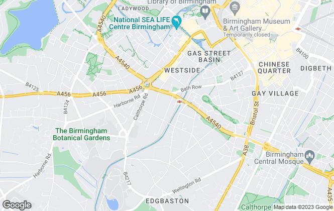 Map for Checkleys Chartered Surveyors, Birmingham