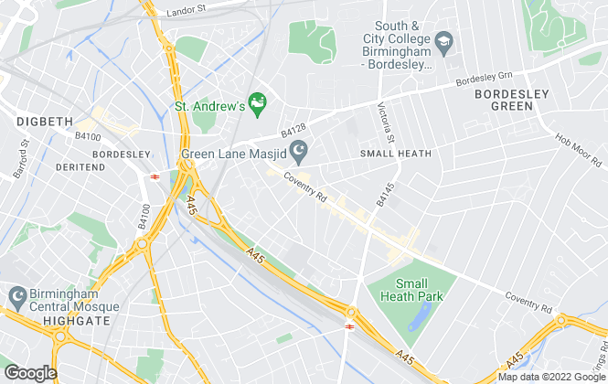 Map for Oasis Home Services Ltd, Small Heath