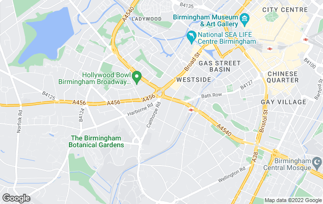 Map for Residential Lettings (Midlands) Ltd, Edgbaston