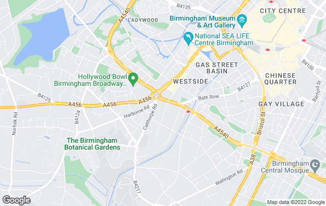 Map for LIV.24, Birmingham