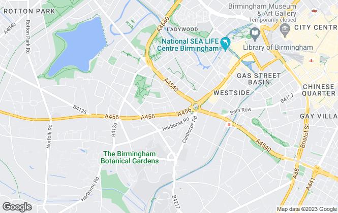 Map for Harris Lamb, Birmingham