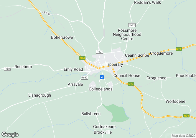 Map for 3  O'Brien Street, Tipperary, Co Tipperary