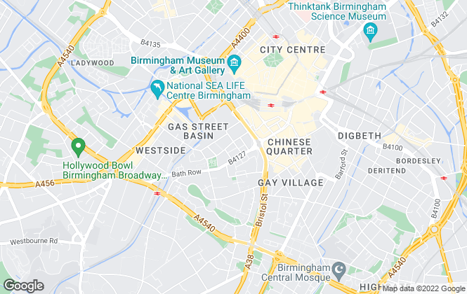 Map for Relocation Lettings Sales and Property Management Ltd , Birmingham