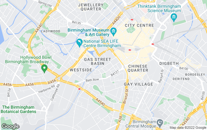 Map for Centrick Property, Nationwide