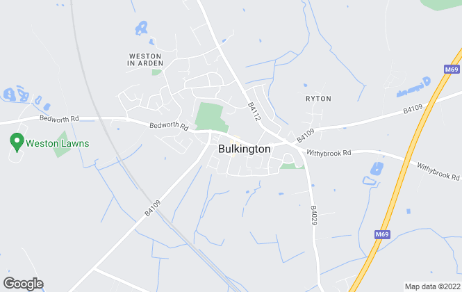 Map for Loveitts, Bulkington