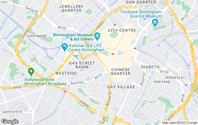 Map for Accord Lets, Birmingham (Front Of The Mailbox)