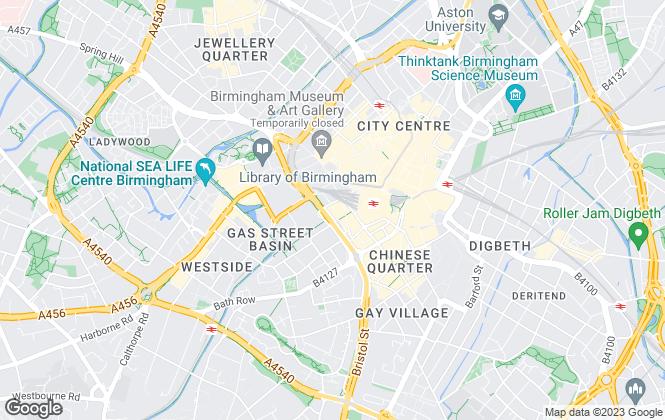 Map for Asset Residential, Birmingham