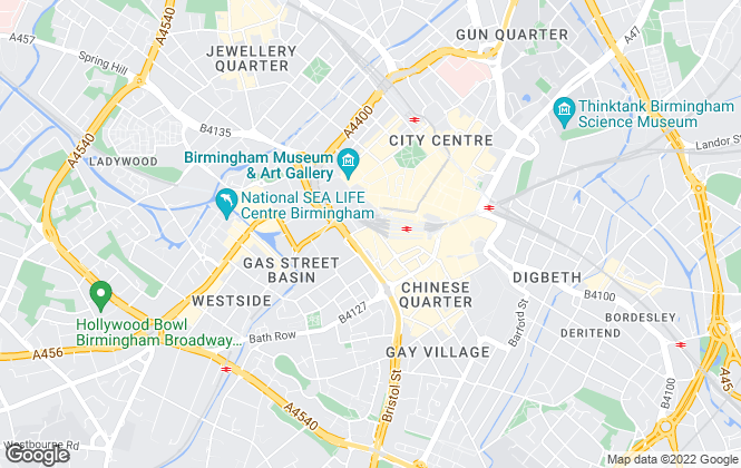 Map for Asset Residential, Birmingham