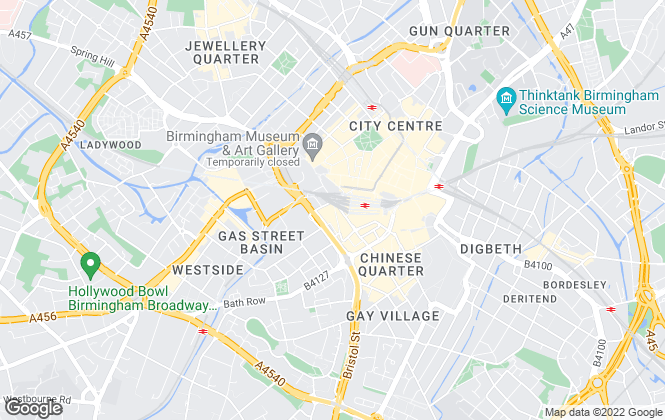 Map for Asset Residential Sales & Lettings, Birmingham