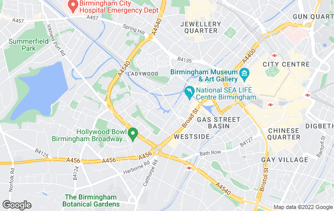 Map for Maguire Jackson, Birmingham Sales