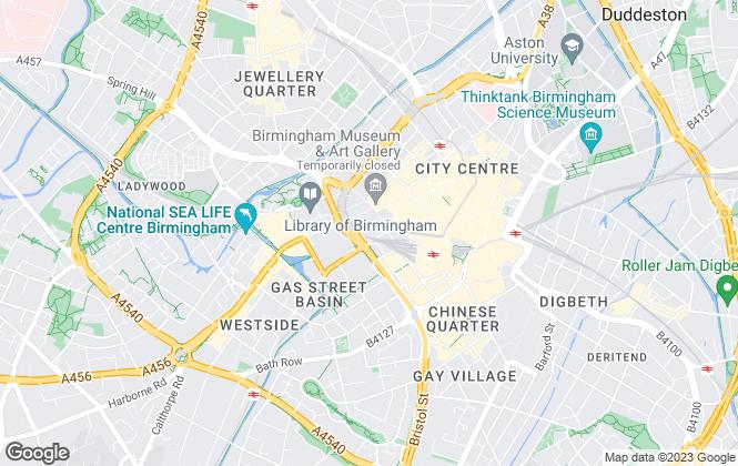 Map for Wolf's Ltd, Birmingham Sales