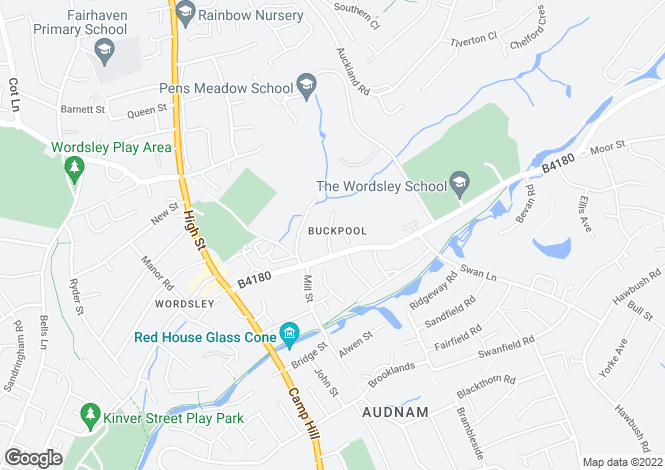 Map for Swiss Drive,