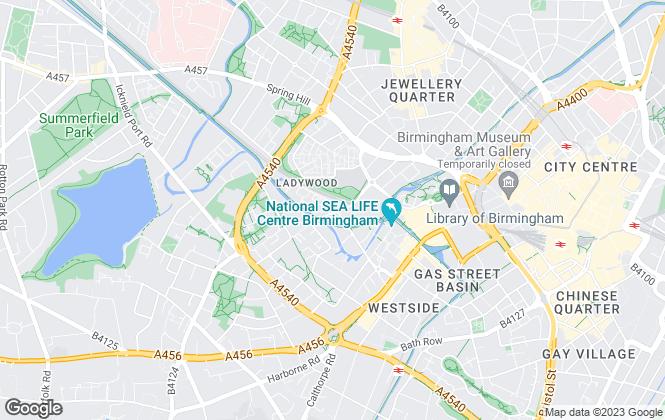 Map for InReach Living, Embankment