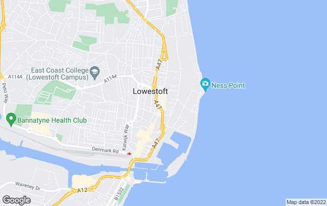 Map for Steel & Co Commercial Property Services, Lowestoft