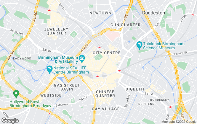 Map for Inciti Lettings, Birmingham