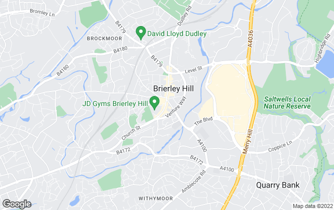 Map for PTN Estates, Brierley Hill