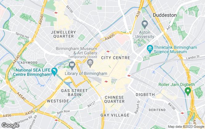 Map for Rhubarb Property, Birmingham