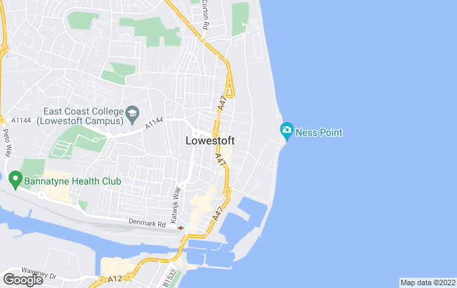 Map for Leaders, Lowestoft Sales