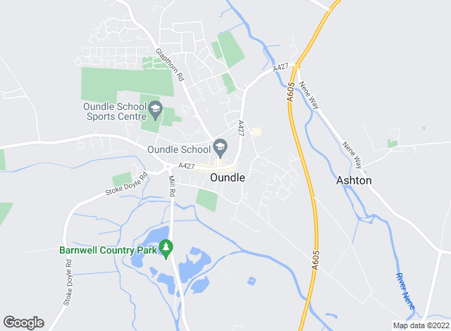 Map for Sharman Quinney, Oundle