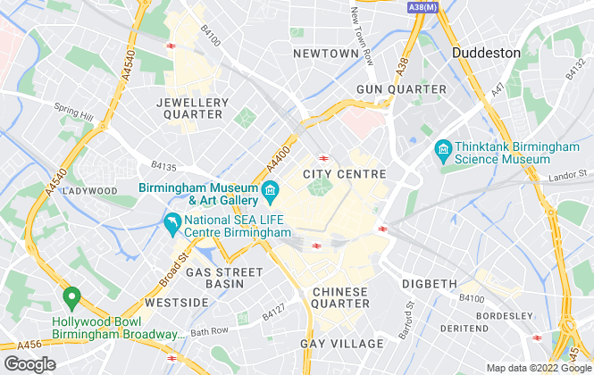 Map for FleetMilne Property, Birmingham