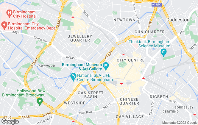 Map for Inciti Lettings, Birmingham