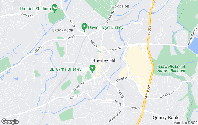 Map for Billingham Taylor, Brierley Hill