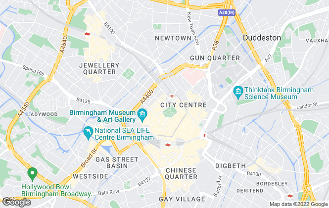 Map for John Shepherd, Birmingham