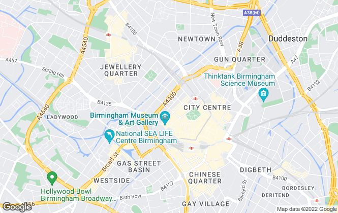 Map for Tenants4U, Birmingham