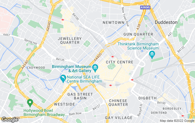 Map for Tenants4U, Birmingham