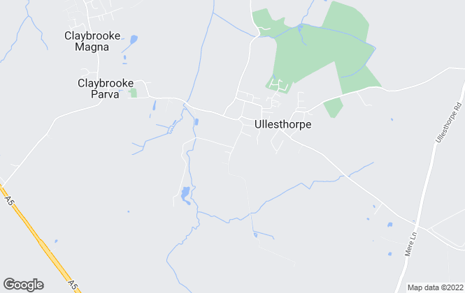 Map for Hornsby Properties, Ullesthorpe