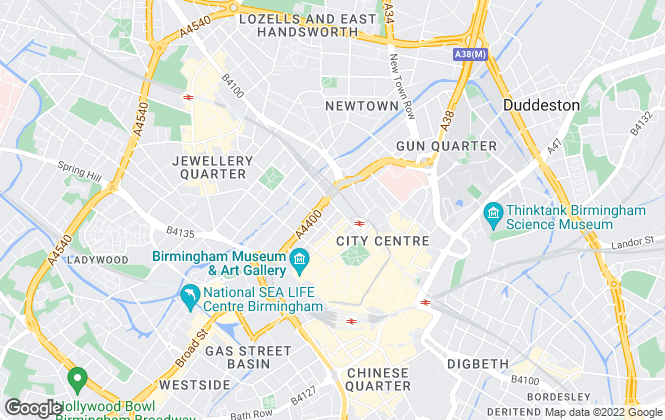Map for Walker Doble, Birmingham