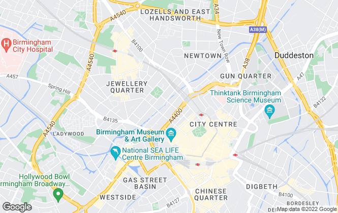Map for Leasemethod Management Ltd, Birmingham