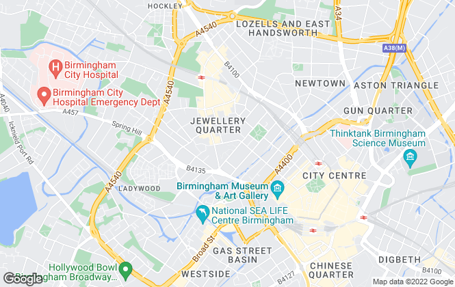 Map for The Online Property Agency, Birmingham