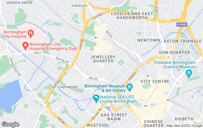 Map for York Laurent, Birmingham-Sales