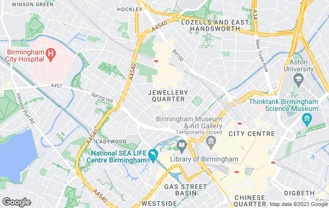 Map for York Laurent, Birmingham-Lettings