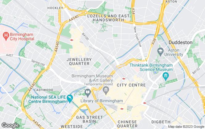 Map for Capital Portfolio UK, Birmingham