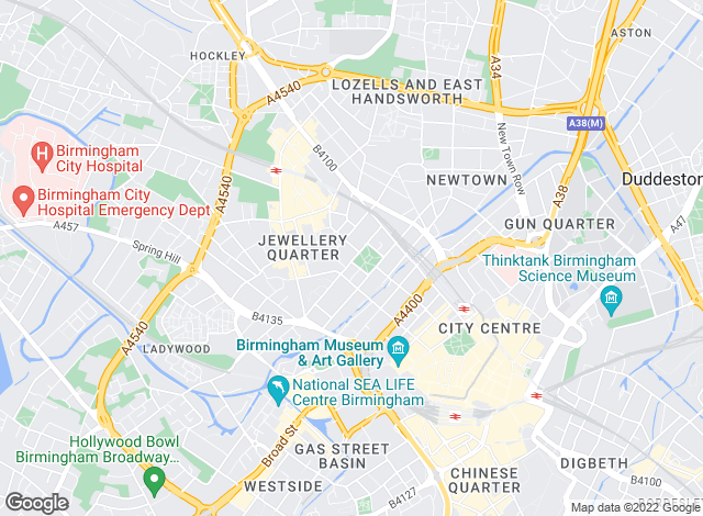 Map for Abode Residential Ltd, Birmingham