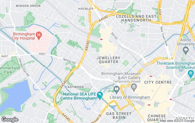 Map for McKinnon Nelson, Birmingham