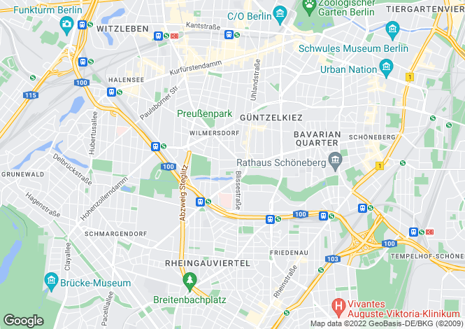 Map for 10713, Berlin, Germany