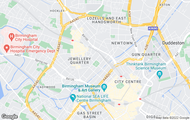 Map for Robert Powell, City Centre Office