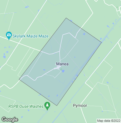 Map of property in Manea