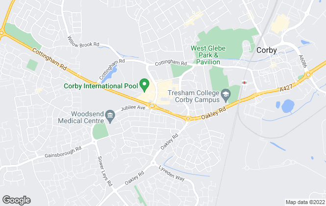 Map for Chris George The Estate Agent, Corby