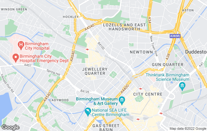 Map for Prima Lettings, Birmingham